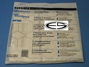 Filtermatte dunstabzug stück u hausgeräte ersatzteile zubehör